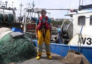 Cian Daniels crewman and fisherman