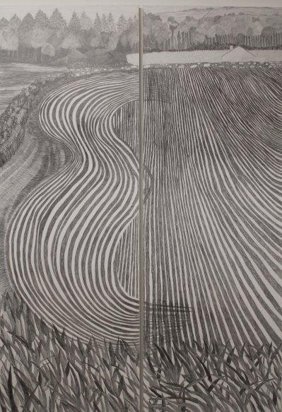 Farming scene wallpaper